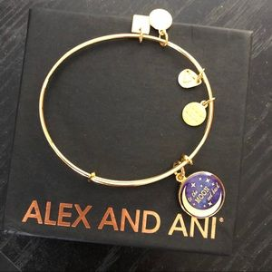 Alex and ani I love you to the moon bracelet